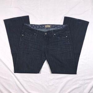 PAIGE Benedict Canyon bootcut jeans sz 31 EUC